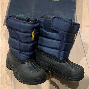 NIB Polo Ralph Lauren Vancouver kids snow boots 10